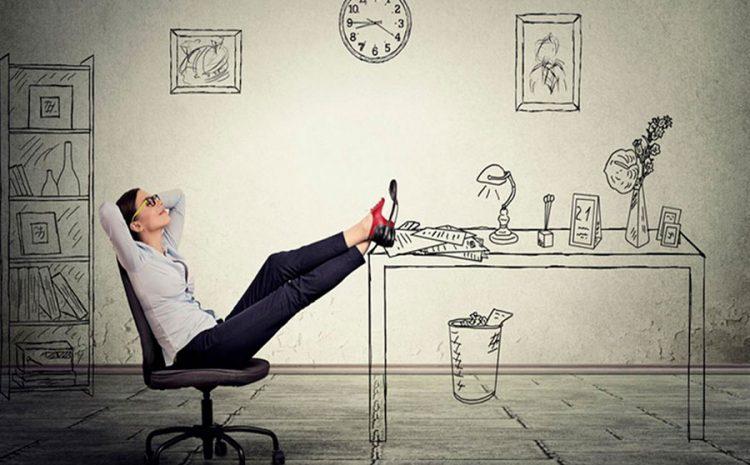 """El """"placer de no hacer nada"""" vs. el estrés por la falta de actividad."""